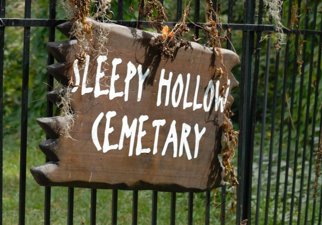 Sleepy Hollow is one of the top Halloween vacation destinations.
