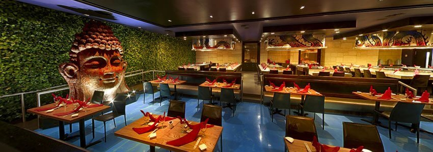 For awesome Asian cuisine and teppanyaki, head to Zen Restaurant at the Hard Rock Riviera Maya in Mexico