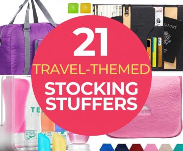 The Best Stocking Stuffers for Travelers featured by top US travel blogger, Marcie in Mommyland | The Best Stocking Stuffers for Travelers featured by top US travel blogger, Marcie in Mommyland | Find out the best 21 stocking stuffers for travelers