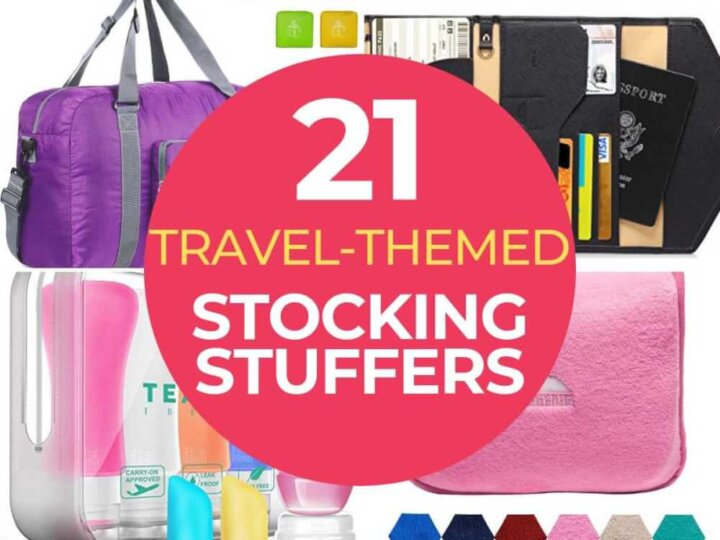 The Best Stocking Stuffers for Travelers featured by top US travel blogger, Marcie in Mommyland   The Best Stocking Stuffers for Travelers featured by top US travel blogger, Marcie in Mommyland   Find out the best 21 stocking stuffers for travelers