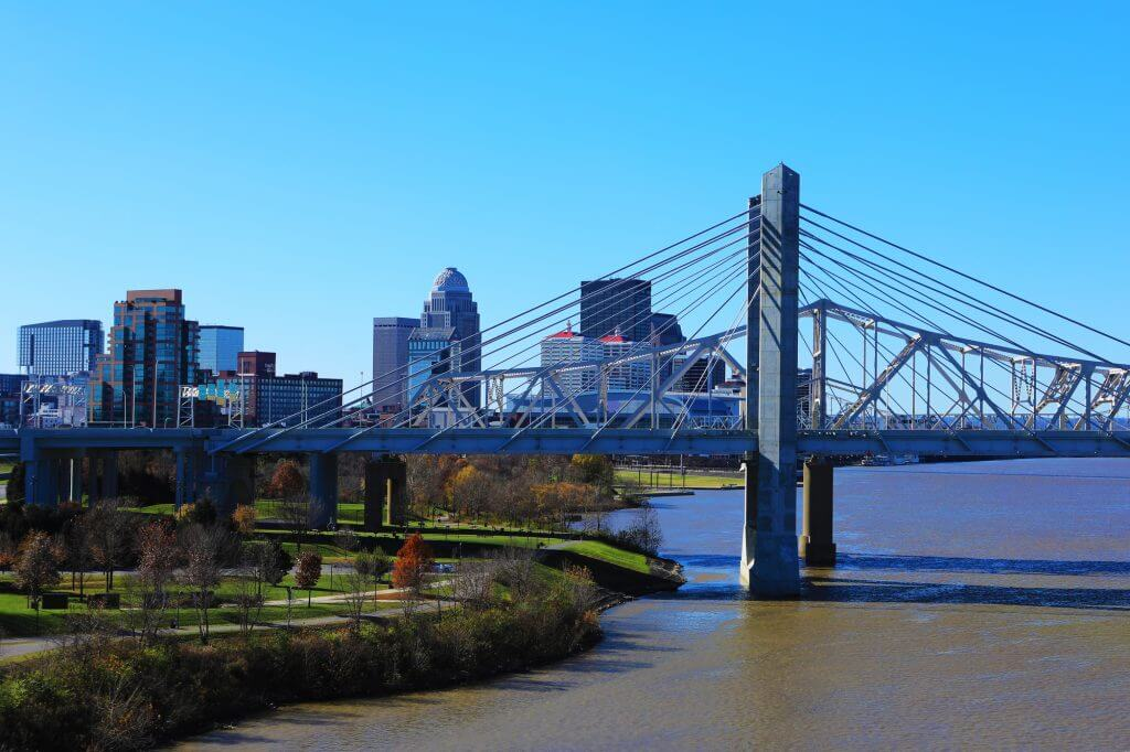 Kentucky is an affordable fall travel destination in the United States.