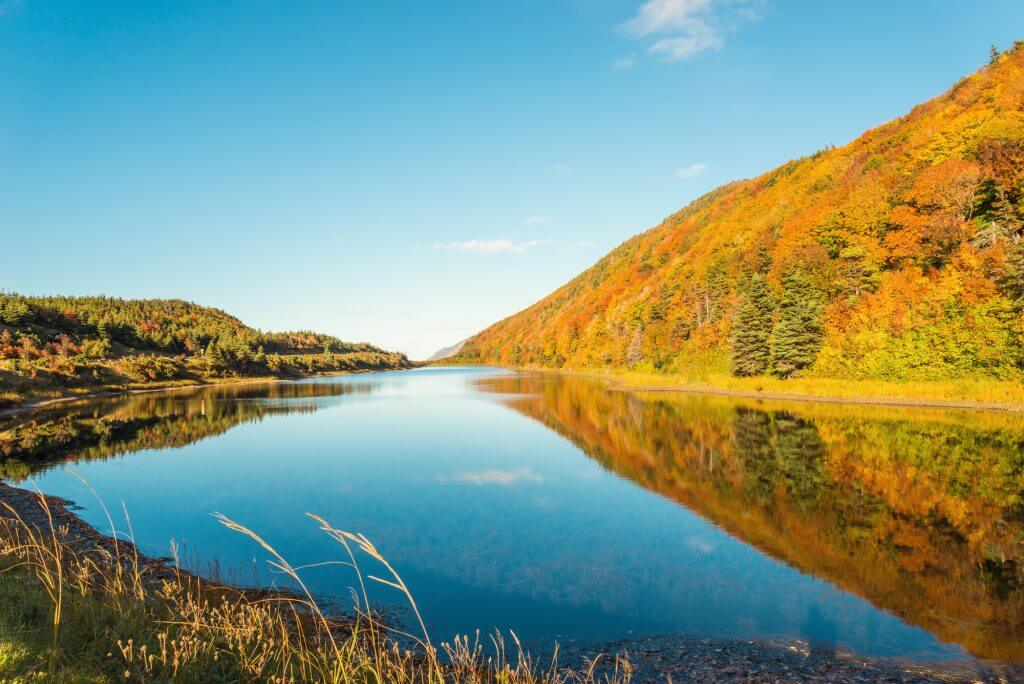 Cabot Trail is just one of the reasons to visit Nova Scotia in the fall.