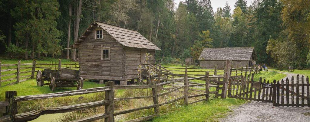 See what life was like in pioneer days at Pioneer Farm in Eatonville, WA, just outside Mount Rainier in Washington State.