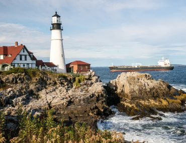 Portland, Maine is a great fall weekend getaway in New England