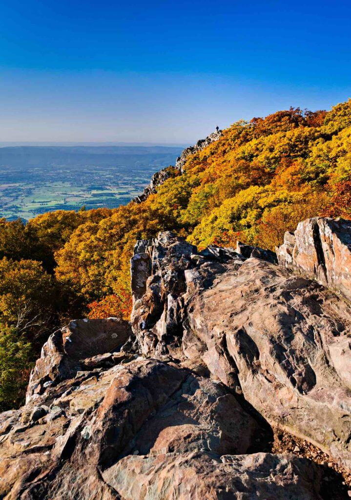 Shenandoah National Park is a top fall travel destination in the United States.