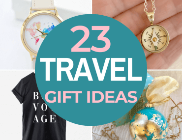 23 Best Travel Gifts for Her featured by top US travel blogger, Marcie in Mommyland