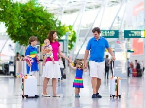8 Tips for Getting Through Airport Security with Children