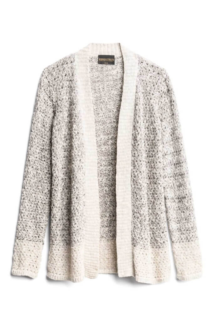 Fall 2019 fashion isn't complete without a cardigan sweater