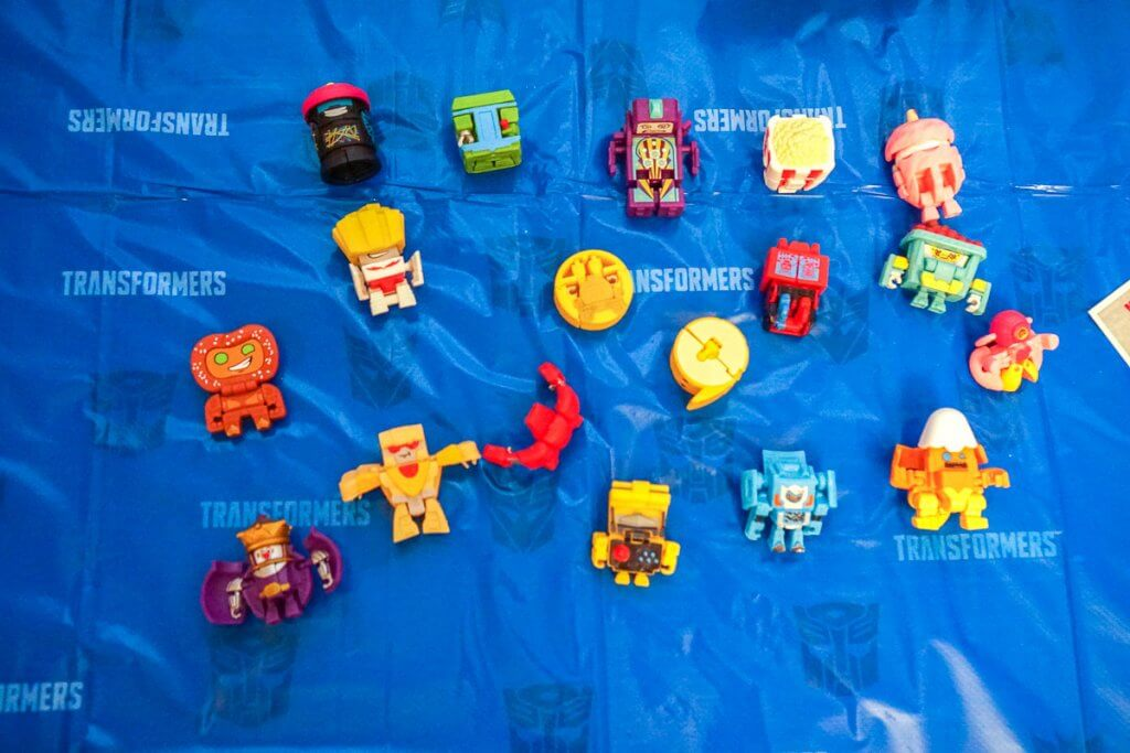 These BOTBOTS were such a fun party favor for our Transformers party