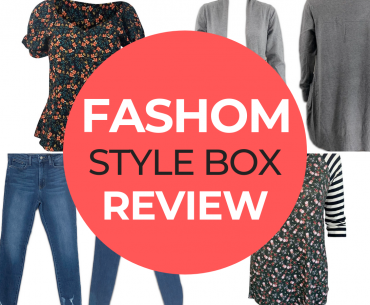 FASHOM box review featured by top US life and style blogger, Marcie in Mommyland