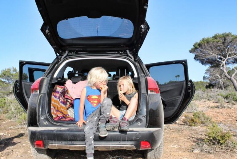 Best Car Gadgets for Traveling and Road Trips featured by top US travel blogger, Marcie in Mommyland