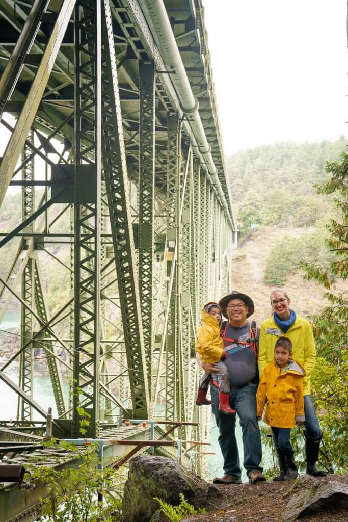 Deception Pass Bridge is one of the most popular things to see in Whidbey Island in the Pacific Northwest