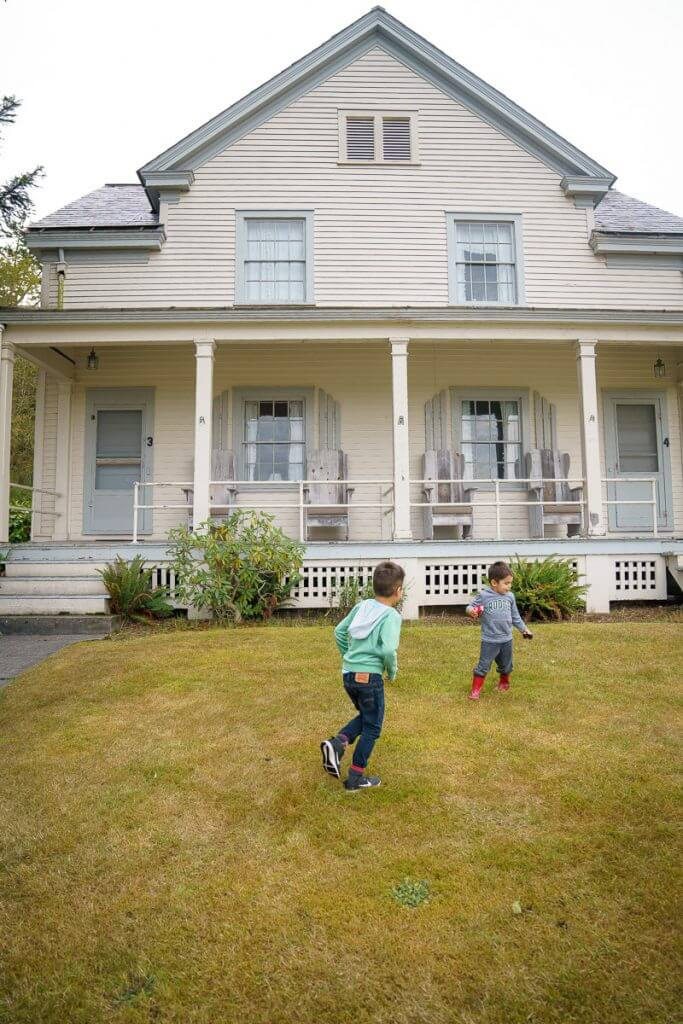 The Fort Casey Inn is a kid-friendly place to stay on Whidbey Island, WA for families