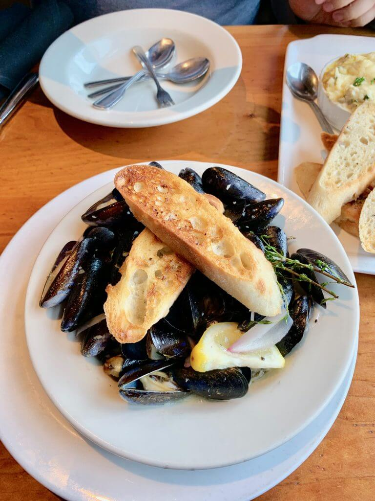 Whidbey Island is known for Penn Cove mussels and it's one of the best things to eat on Whidbey Island.