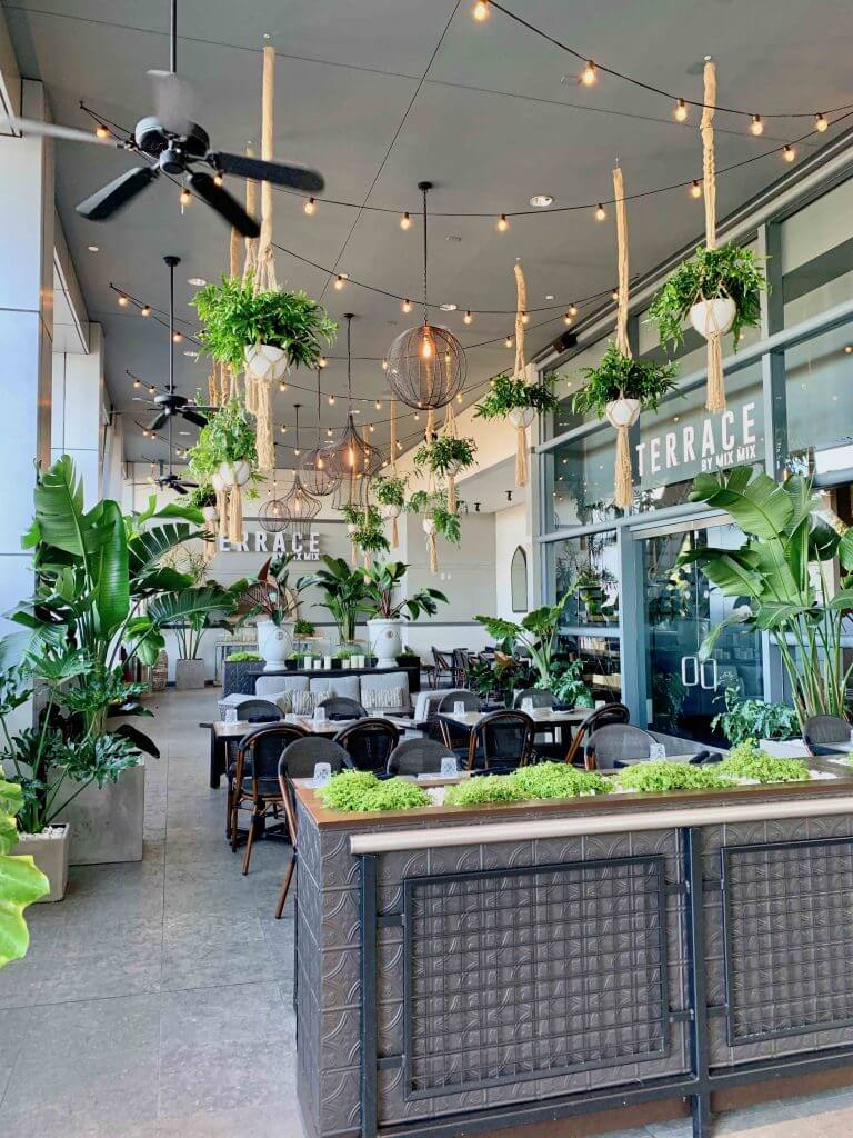 Terrace by Mix Mix is one of the best restaurants in Costa Mesa, California