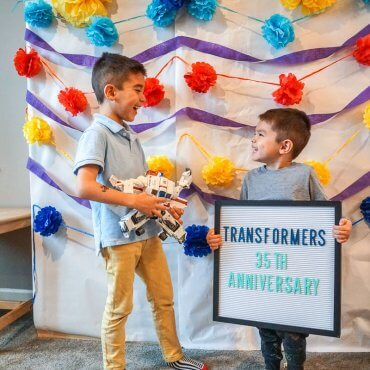 TRANSFORMERS Party for 35th Anniversary