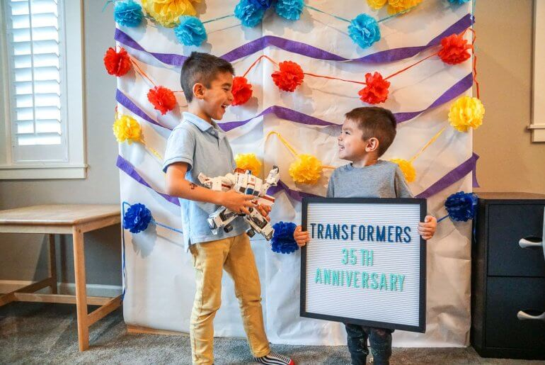 Find out how to throw an easy Transformers party