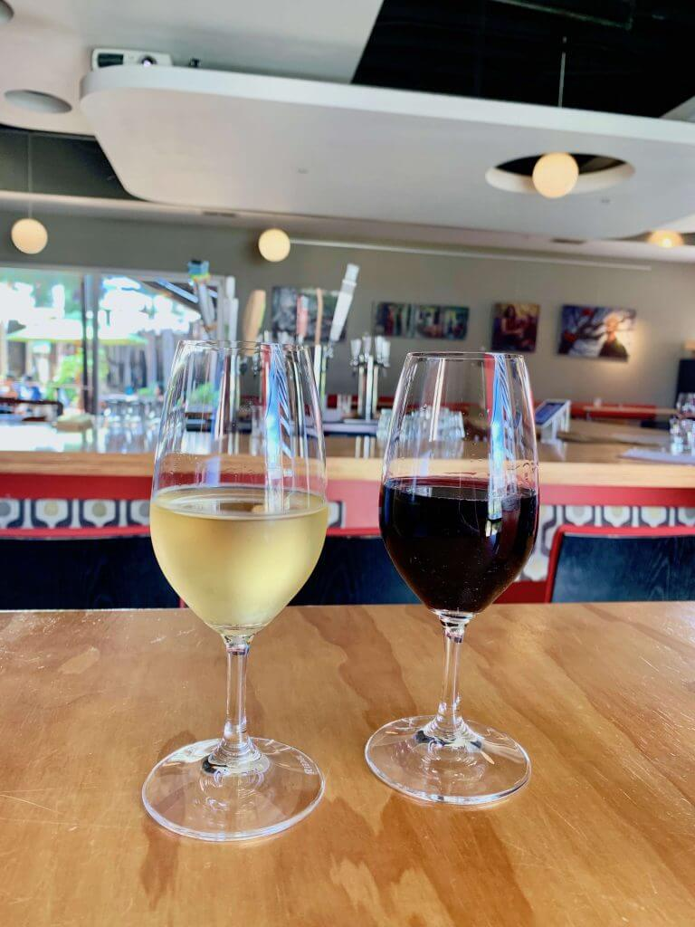 If you are looking for a great wine tasting in Costa Mesa, head to Wine Lab at The Camp