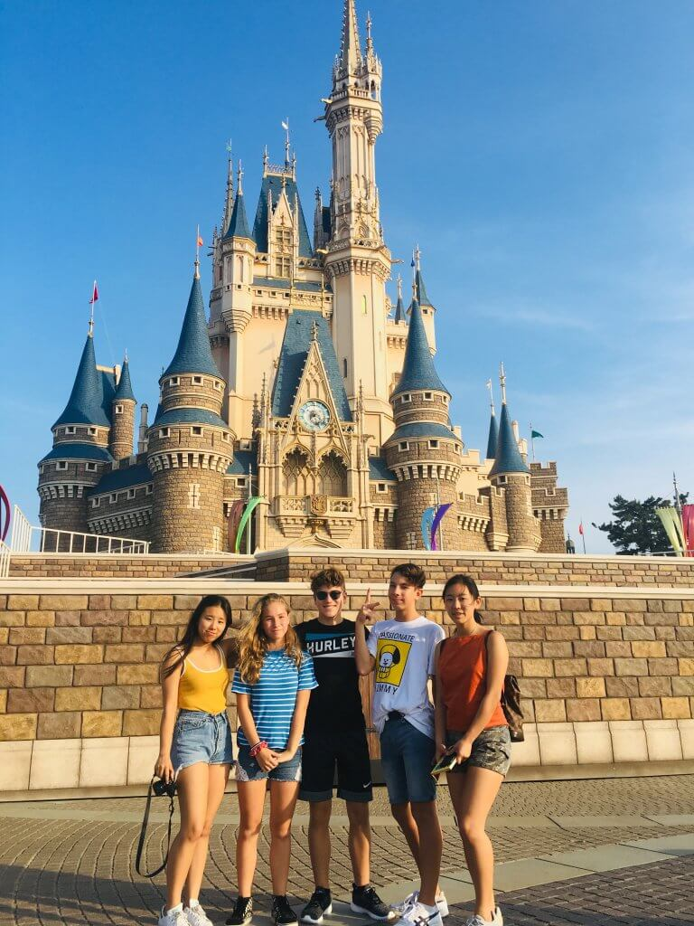 Top 20 Kid Friendly Travel Destinations for 2020 featured by top US family travel blogger, Marcie in Mommyland: Disneyland Tokyo