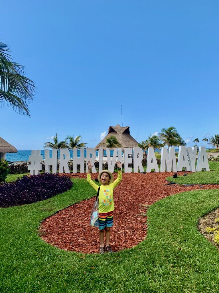 Top 20 Kid Friendly Travel Destinations for 2020 featured by top US family travel blogger, Marcie in Mommyland: Hard Rock Hotel Riviera Maya