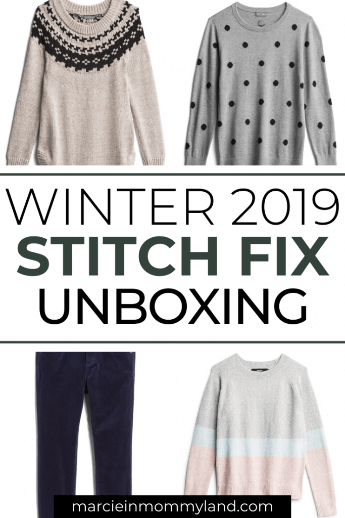 Stitch Fix Unboxing and Try on for December featured by top US life and style blogger, Marcie in Mommyland.