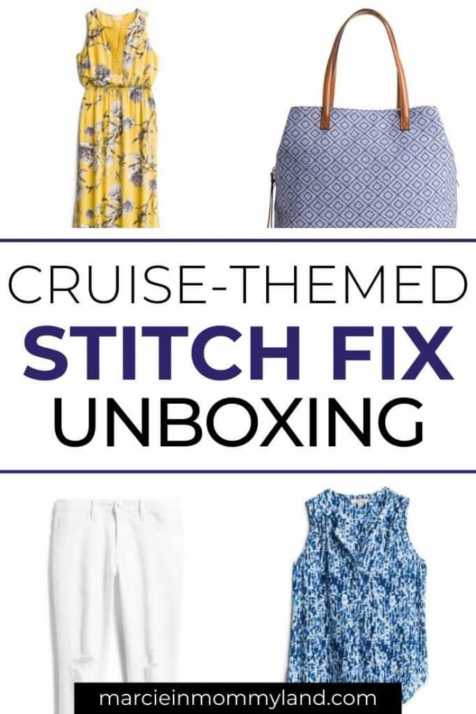 Stitch Fix Unboxing and Try on for January featured by top US life and style blogger, Marcie in Mommyland.