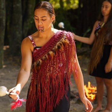 Tamaki Maori Village in Rotorua, New Zealand