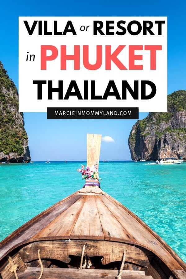Where to Stay in Phuket with Kids, travel tips featured by top family travel blogger, Marcie in Mommyland.