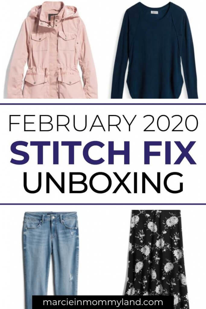 Stitch Fix Unboxing & Try On: February 2020 featured by top US lifestyle blogger, Marcie in Mommyland