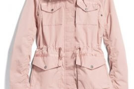 Stitch Fix Unboxing & Try On: February 2020 featured by top US lifestyle blogger, Marcie in Mommyland: Shilowe Cargo Rain Jacket