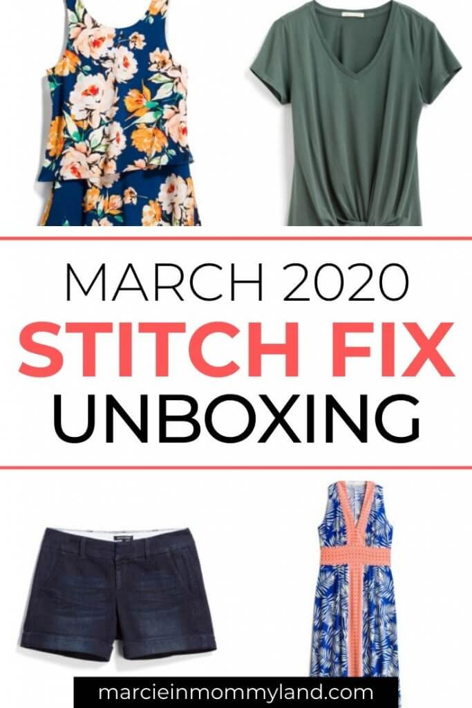 Stitch Fix Unboxing & Try On: March 2020 featured by top US lifestyle blogger, Marcie in Mommyland.