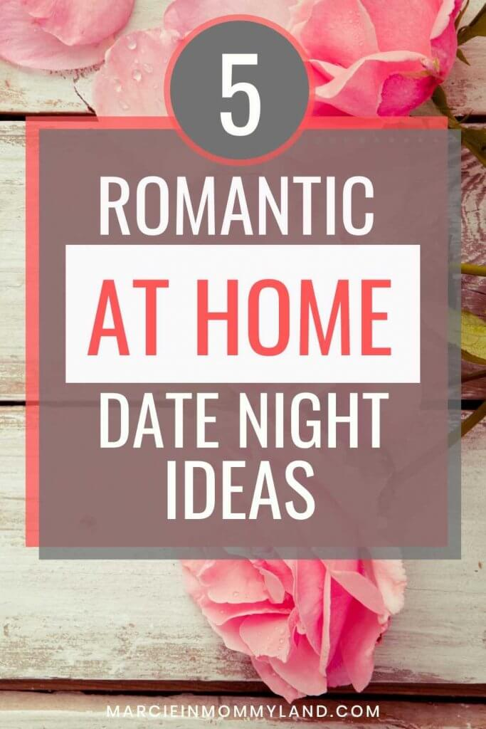5 Easy At Home Date Night Ideas for You and Your Partner featured by top US life and style blogger, Marcie in Mommyland