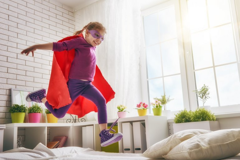 The Ultimate List of Indoor Games, Activities and Workouts to Keep Your Kids Active featured by top Seattle lifestyle blogger, Marcie in Mommyland.