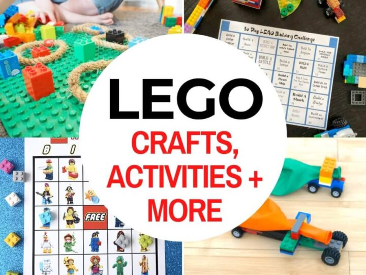 42 LEGO Crafts and Activities for Kids for Endless Fun featured by top US lifestyle blogger, Marcie in Mommyland