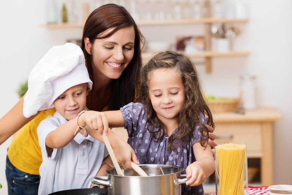 8 Super Fun Things to Do in the Summer at Home with Kids featured by top Seattle lifestyle blogger, Marcie in Mommyland: cooking and baking