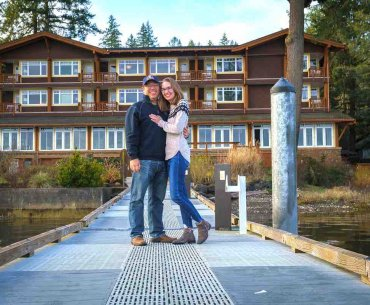 Alderbrook Resort & Spa Review featured by top Seattle travel blogger, Marcie in Mommyland