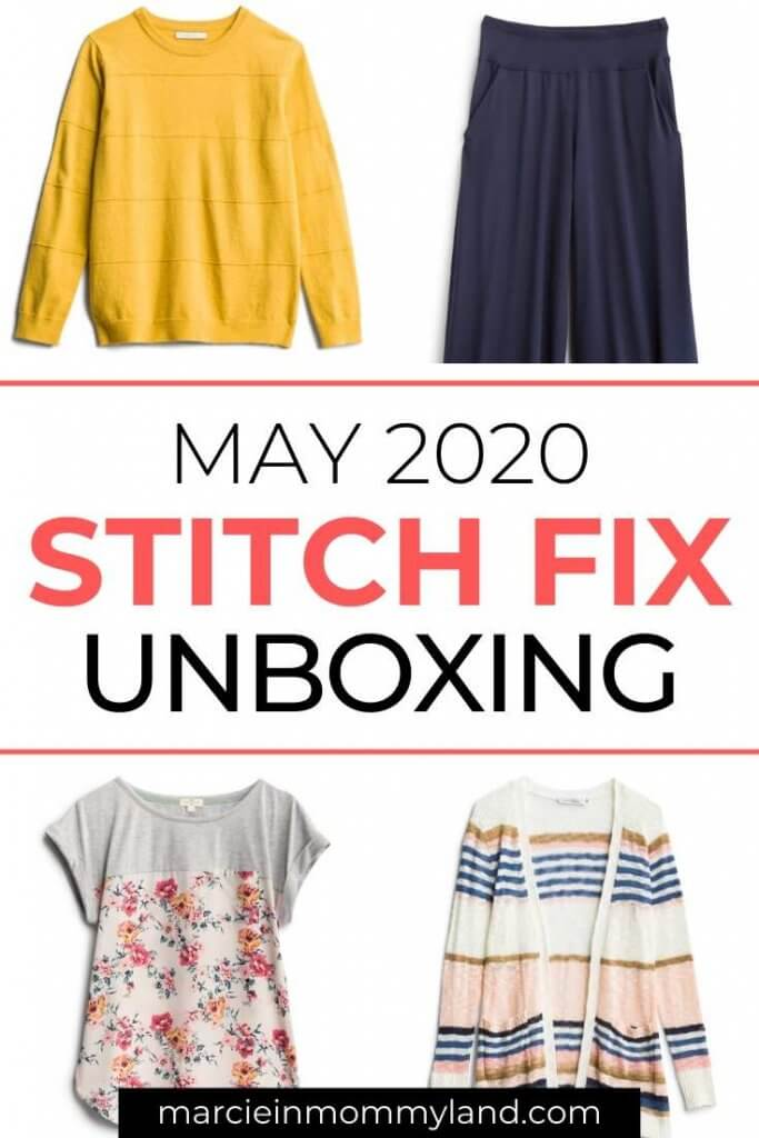 Stitch Fix Unboxing & Try On: May 2020 featured by top Seattle lifestyle blogger, Marcie in Mommyland