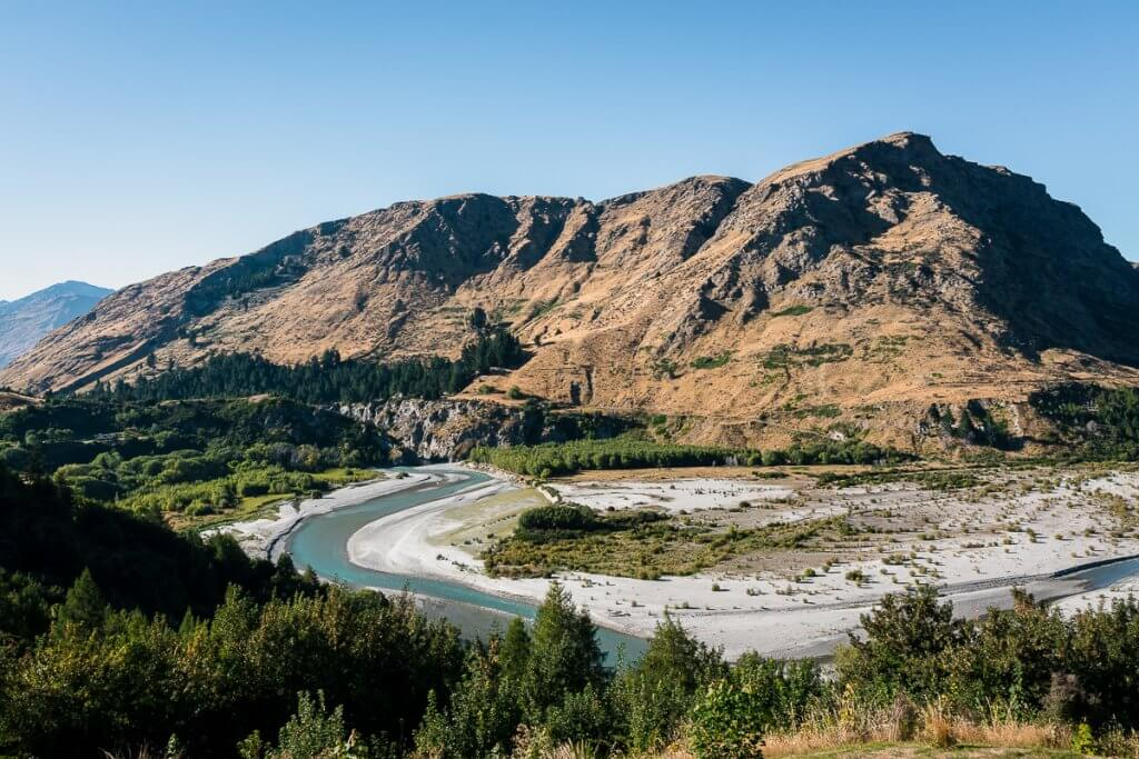 Top 12 Things to do in Queenstown with Kids featured by top family travel blogger, Marcie in Mommyland: Shotover is a fun place for Jet Boating in Queenstown with Kids
