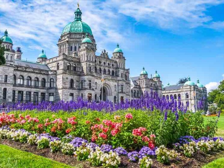 Victoria with Kids: 13 Kids Activities to Do when Visiting Victoria Canada featured by top family travel blogger, Marcie in Mommyland