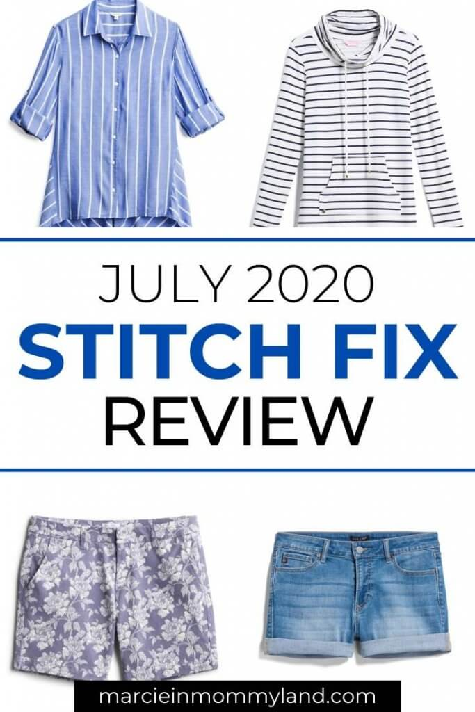 July 2020 Stitch Fix review and unboxing by top Seattle lifestyle blogger Marcie in Mommyland