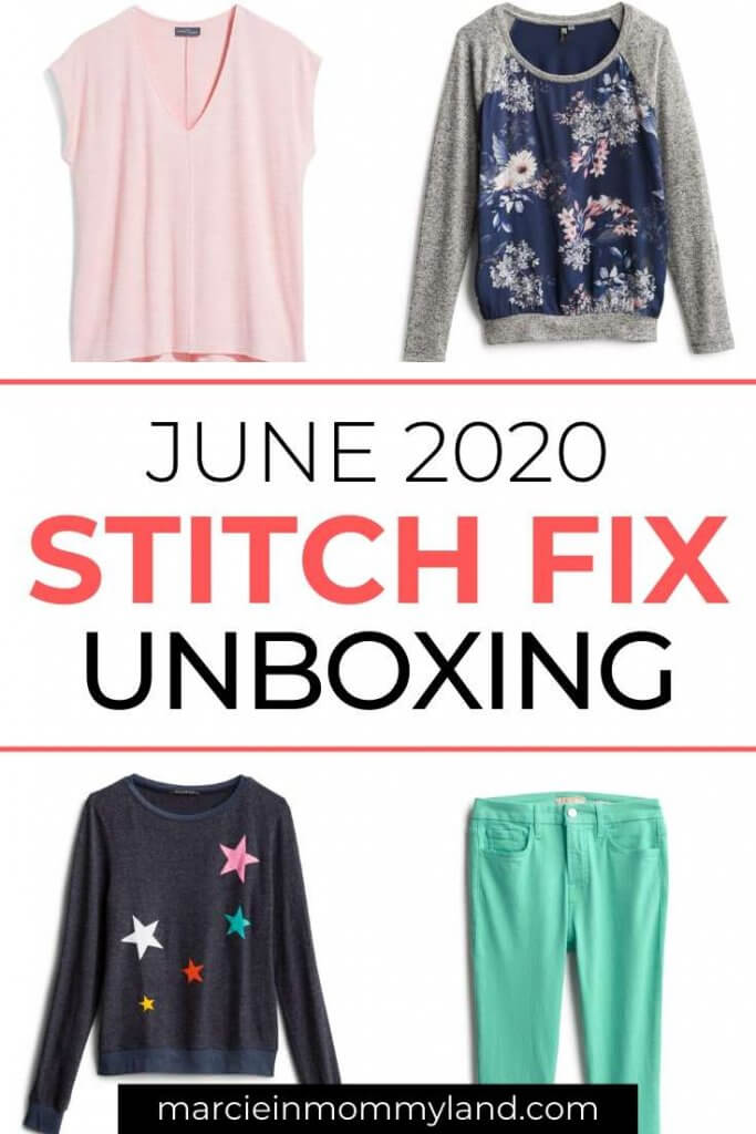 Stitch Fix Unboxing & Try On: June 2020 featured by top Seattle lifestyle blogger, Marcie in Mommyland