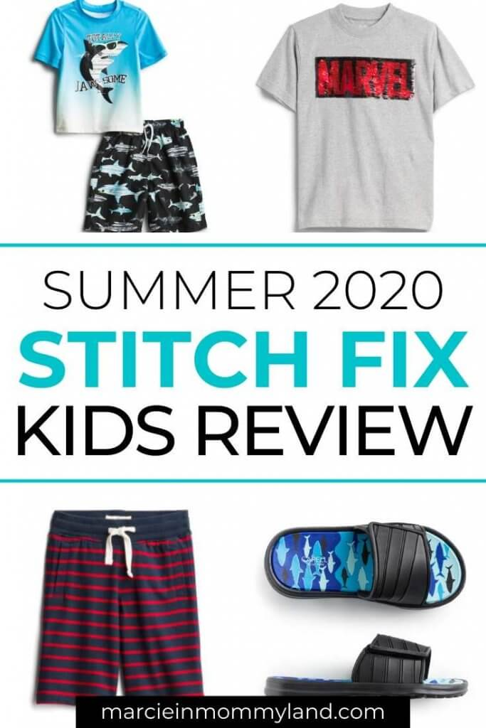Stitch Fix Kids Unboxing & Review featured by top Seattle life and style blogger, Marcie in Mommyland