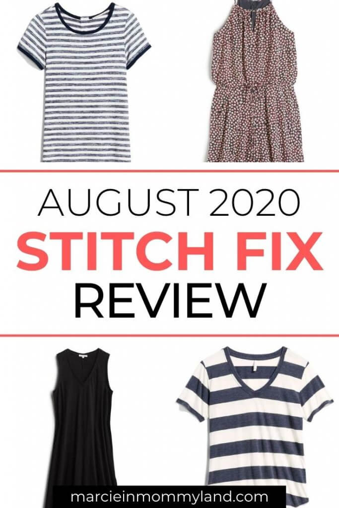 Stitch Fix Unboxing & Try On: August 2020 featured by top Seattle life and style blogger, Marcie in Mommyland