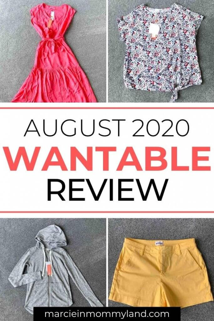 Wantable Style Edit Unboxing & Try On: August 2020 featured by top Seattle life and style blogger, Marcie in Mommyland