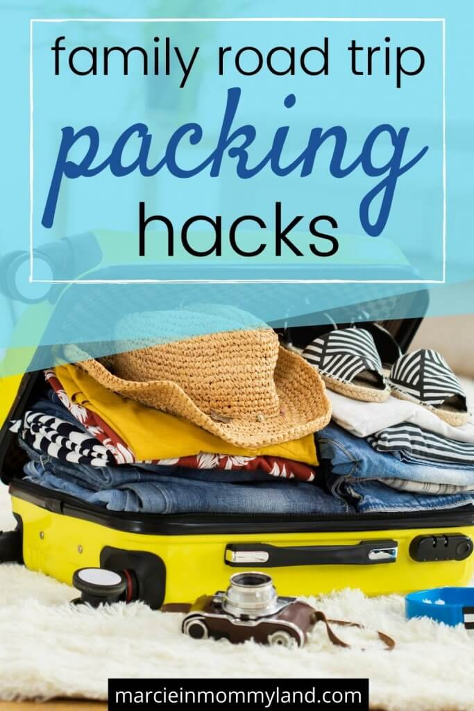 Family Road Trip Packing Hacks & Survival Kit featured by top US travel blogger, Marcie in Mommyland