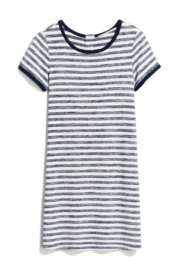 Stitch Fix Unboxing & Try On: August 2020 featured by top Seattle lifestyle blogger, Marcie in Mommyland: image of Market & Spruce Britta T-Shirt Dress