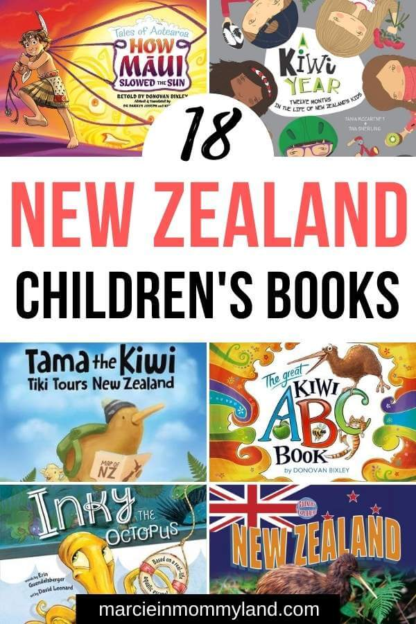 18 Fantastic New Zealand Children's Books featured by top travel blogger, Marcie in Mommyland