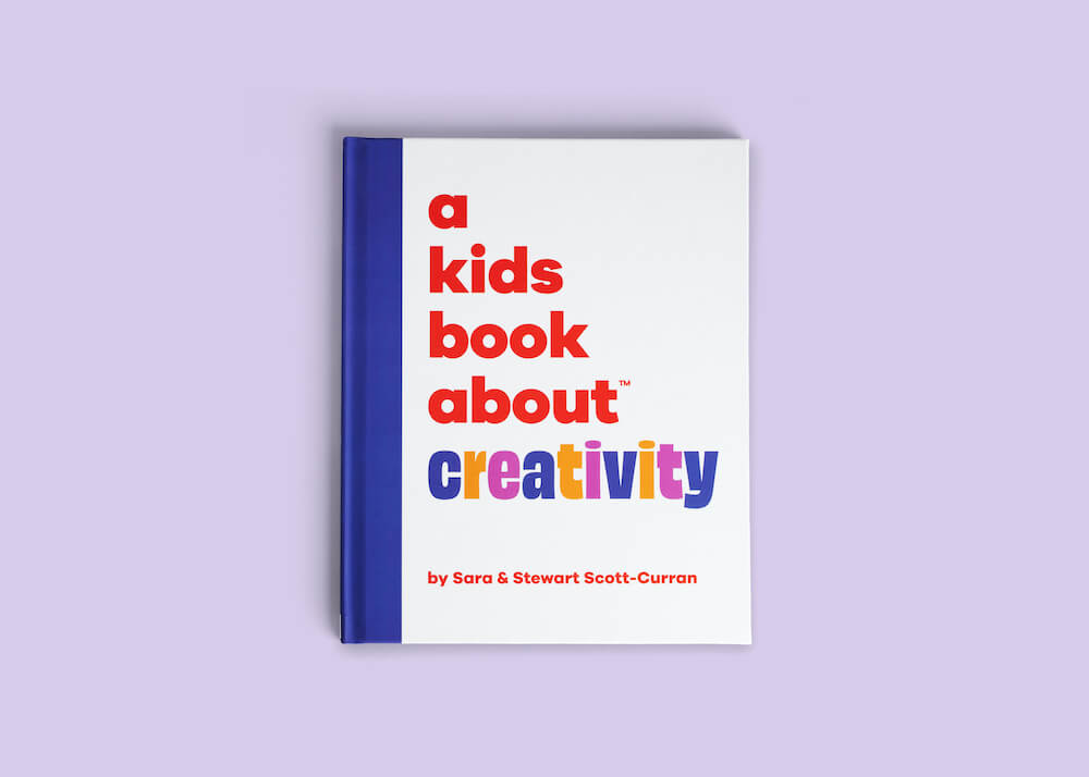 """A Kids Book About"" Series: An Honest Review featured by top Seattle lifestyle blogger, Marcie in Mommyland: A Kids Book About Creativity"