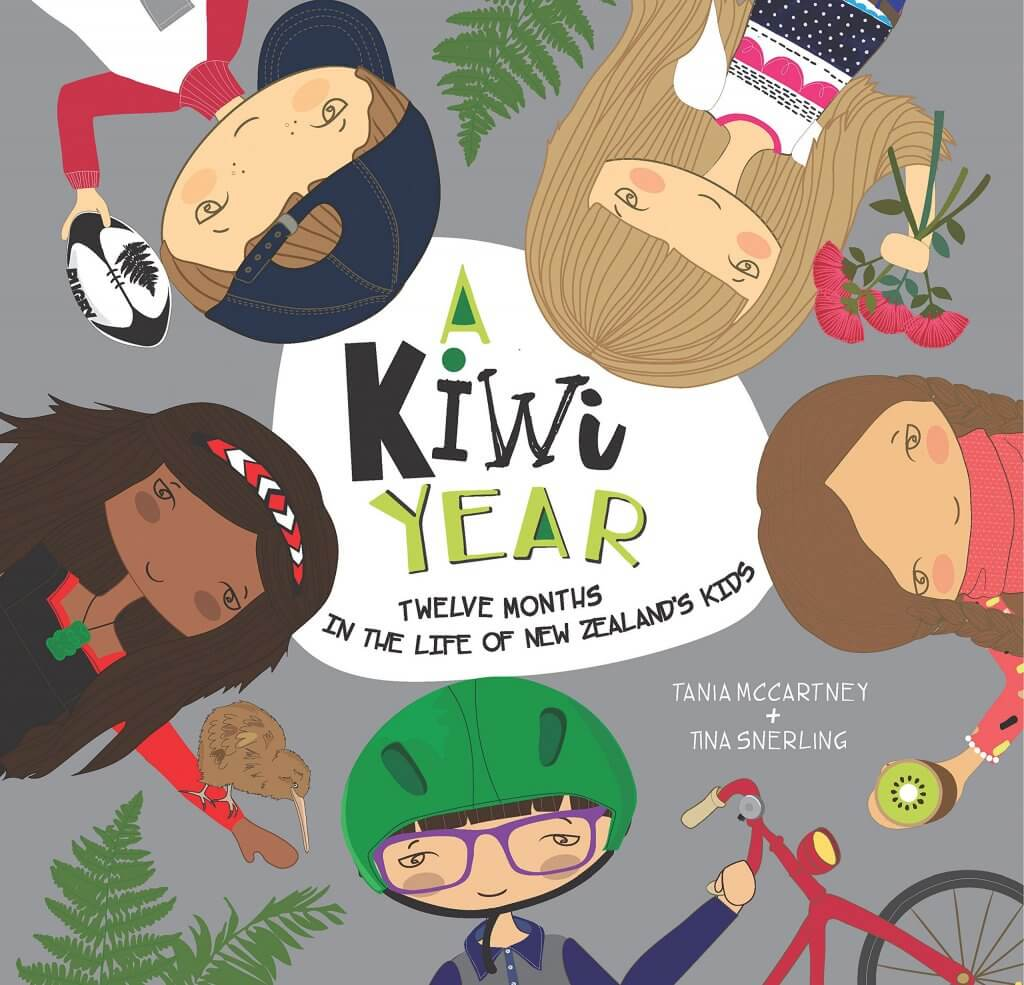 A Kiwi Year is a great children's book about New Zealand holidays and culture18 Fantastic New Zealand Children's Books featured by top travel blogger, Marcie in Mommyland: