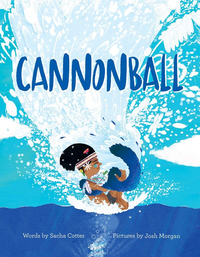 18 Fantastic New Zealand Children's Books featured by top travel blogger, Marcie in Mommyland: Cannonball, a New Zealand children's book that kids love!